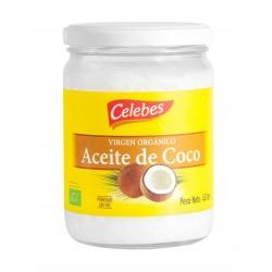 """Aceite de coco Organico """"Celebes """" 450grs"""