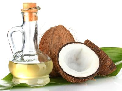 belleza y aceite de coco